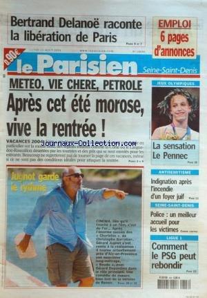 PARISIEN SEINE SAINT DENIS (LE) [No 18646] du 23/08/2004