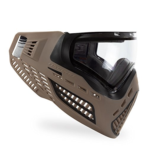 Virtue VIO Ascend Thermal Paintball Maske/Goggle - FDE/Klar -