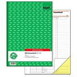 SIGEL SD056 Kassenbuch EDV A4, 2x40 Blatt, selbstdurchschreibend