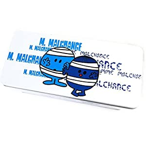 Monsieur Madame [L8915] - Boite à pharmacie 'Monsieur Madame' blanc bleu (M. Malchance)