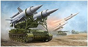 Trumpeter 09523Maqueta de Soviet 2K11a Tel W/9m8m Missile Jarra de a (SA de 4ganef)