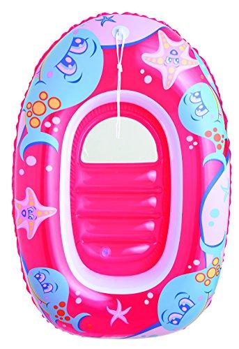 Bestway Luftmatratze Boot Mini-Boot Kinderboot Pool-Boot aufblasbar Wasser Bade Spaß (Modell Schlauchboot, rot)