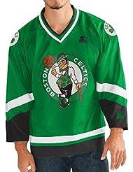 "'Boston Celtics Starter NBA Men' s ""Crossover Hockey Jersey Camiseta, xx-large"