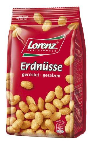 Lorenz Snack World Erdnüsse geröstet, gesalzen, 200 g