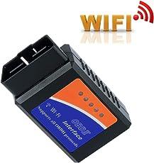 Auto OBD2 Diagnosegerät, Thinkcase OBD2 Adapter, OBDII, OBD2 Scanner Wifi USB, Mini OBD2 Wifi Scanner Wifi ELM327 OBD2 Adapter, Unterstützt Alle OBD2-Protokoll, Funktioniert Auf IOS, Android, Symbian, Windows