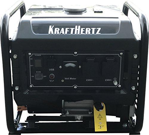 KRAFTHERTZ 3300 Watt Inverter Stromerzeuger 1...