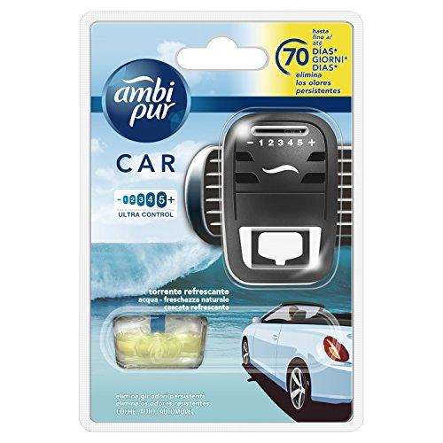 Ambi Pur Car Refreshing Torrent Diffusor und Duft für Lufterfrischer - 7 ml