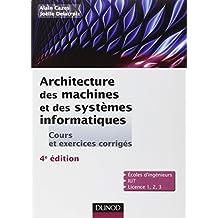 Architecture des machines et des systèmes informatiques - 4ème édition