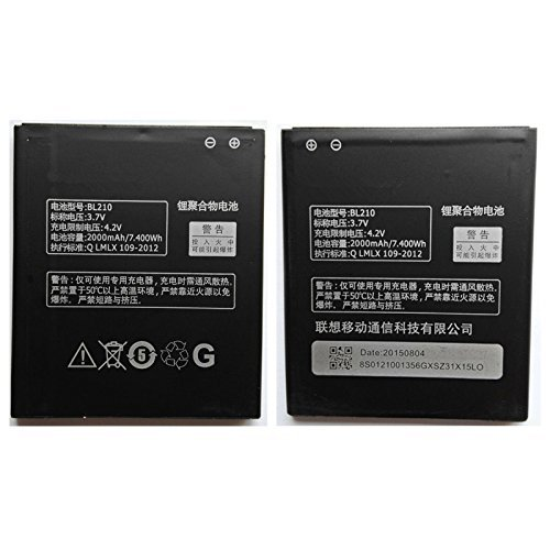 Raj Mobiles Battery for Lenovo A656, A658T, A750e, A766, A770E, S650, S658t, S820,S820e (BL210) 2000mAh  available at amazon for Rs.600