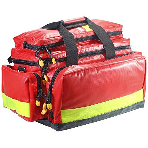 Profi Notfalltasche MINISTER XL Plane rot sehr robust -