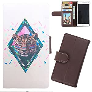 DooDa - For Micromax Canvas EGO A113 PU Leather Designer Fashionable Fancy Wallet Flip Case Cover Pouch With Card, ID & Cash Slots And Smooth Inner Velvet With Strong Magnetic Lock