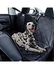 Fluffy's Waterproof Hatchback Oxford-Dog Hammock Car Trunk Rear Seat Covers with Side Protection