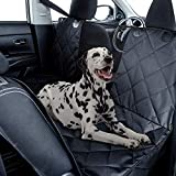 Fluffy's Car Trunk Covers Oxford-Dog Hammock with Side Protection Waterproof Rear Seat Cover