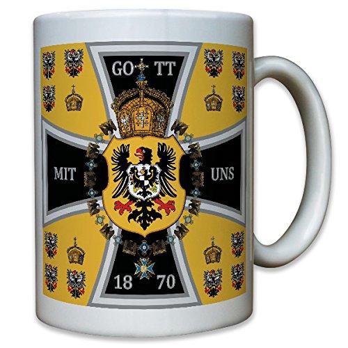 Preußen Kaiserreich Kaiserstandarte 1870 EK Adler - Tasse Kaffee Becher #10702 Adler-kaffee-tasse