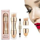 4 en 1 Pinceau de Maquillage Pinceau de Fard à Paupière/Visage/Blush/Lèvre Pour Vayage Par Pretty Comy