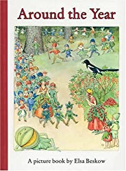 Around the Year: A Picture Book (Mini Edition) by Elsa Beskow (2008-09-25)
