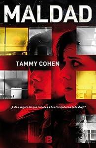 Maldad par Tammy Cohen