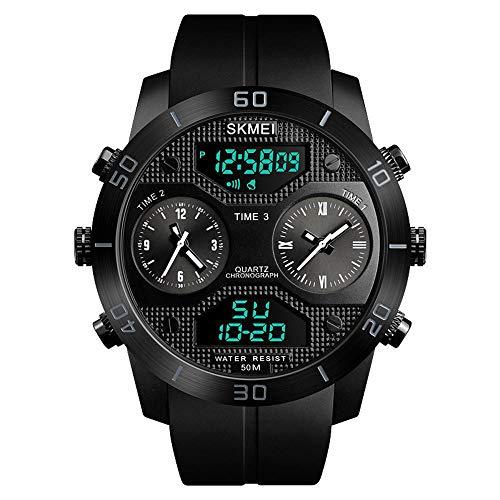Chenhui outdoor sports multifunzione mens orologio tendenza moda grande quadrante impermeabile orologio elettronico