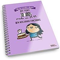 Missborderlike - Cuaderno anillas -Si te cuesta decir que tienes 30 años prueba con 29