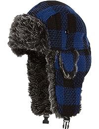 Gorro de invierno unisex imitación piel con banda de ajuste Sakkas Zaire