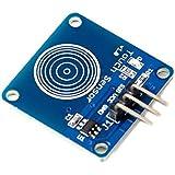 daorier 1way Digital Touch Sensor táctil capacitiva interruptor módulo DIY para Arduino o Microcontroladores