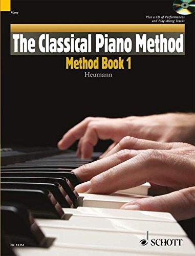The classical Piano Methode Volume 1 por Hans-Günter Heumann