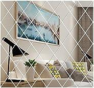 Yorten Wall Decals Wall Sticker Mirror Reflective Design DIY Family Wall Art Sticker Decor Decoration