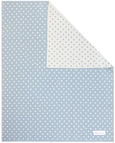 Kindsgut Kinderdecke, Baby-Decke (weich), Punkte (Baby-wolle-kleidung)