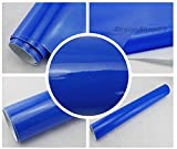 5,70€/m² Auto Folie - pearl blau glänzend - selbstklebend BLASENFREI flexibel Car Wrapping Klebefolie folieren