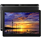 HITSAN 4G Phone Call, Tablet PC, 10.1 Inch, 2GB+32GB, Support Google Play, Android 7.0 MTK6753 Cortex-A53 Octa Core 1.5GHz, Dual SIM, Support GPS, OTG, WiFi, Bluetooth(Black)