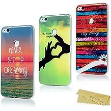 Huawei P8 Lite 2017 Funda Silicona Ultrafina - Mavis's Diary Carcasa Ultra Delgado TPU Cover Protector para Huawei P8 Lite 2017