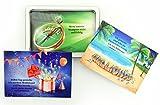 Affirmationen Erfolg Wohlstand Reichtum und Geld - Reichtum anziehen und reich werden auf die gute Art mit Affirmationskarten in der Geld Karten Box (31 Stück Postkarten Set Reichtum erschaffen)