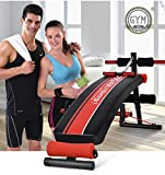 AB Sit Up Bench Board Abdominal Crunch Fitness Workout Gym Exercise