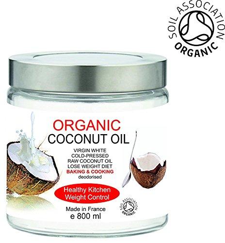 Aceite Ecológico de Nuez de Coco 800 ml