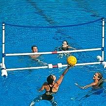 Piscina juegos divertido jugar fácil de montar gran agua Polo voleibol objetivo