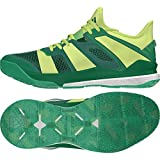 adidas Herren Stabil X Handballschuhe, grün, XL