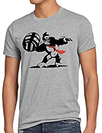 style3 Graffiti Kong Herren T-Shirt donkey pop art banksy geek snes nerd gamer