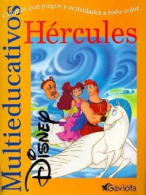 Hércules: Cuentos con juegos y actividades a todo color (Multieducativos Disney)