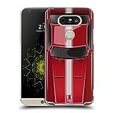 Head Case Designs Speed Rot Klassische Automobile Ruckseite Hülle für LG G5 SE / G5 Lite