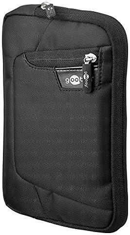 Goobay Nylon-Tasche mit Standfunktion für Tablet (21,1