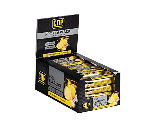 CNP Pro Flapjack - Lemon Meringue High Protein Flapjack Bars - 24 x 75g Protein Oat Bars