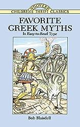 Favorite Greek Myths (Dover Children's Thrift Classics) by Bob Blaisdell (1996-04-22)