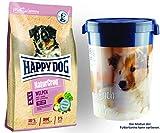 Happy Dog Premium NaturCroq Welpen 15 kg Futtertonne 43 Liter