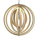 Tomons Lampe de Plafond LED en Bois Plafonnier Lustre du Style Moderne Vintage en...