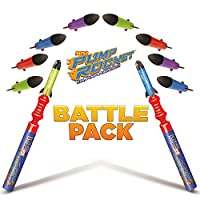 GeoSpace Pump Rocket Mini Battle Pack With 2 Launchers + Pack Of Mini Replacement Rockets