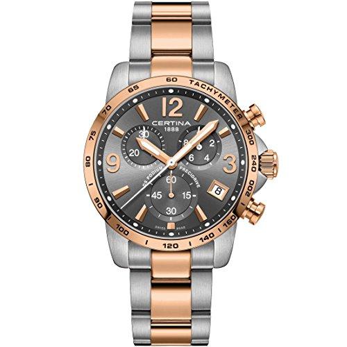CERTINA Men's DS Podium 41MM Steel CASE Quartz Analog Watch C034.417.22.087.00