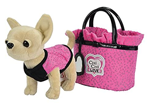 Simba 105892293 - Chi Chi Love Glitter Fashion Plüschtier (Simba Chi Chi)