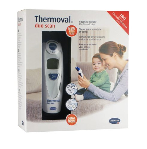 THERMOVAL Duo Scan Thermometer Electronic 1 Piece