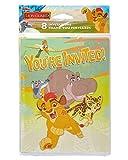 American Greetings Las invitaciones de guardia de león y gracias notas w / sobres (8ct ea.)