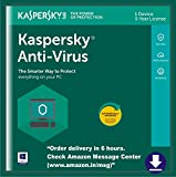 Kaspersky Anti-Virus Latest version - 1 PC, 3 Years (Digital Delivery in 6 hours)
